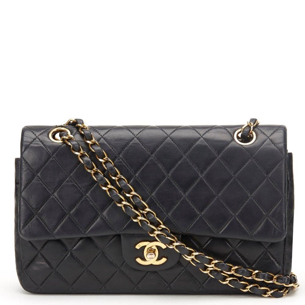 e4dbcf1583fc78 Chanel Medium Classic Double Flap Bag 2002 HB391 | Second Hand Handbags