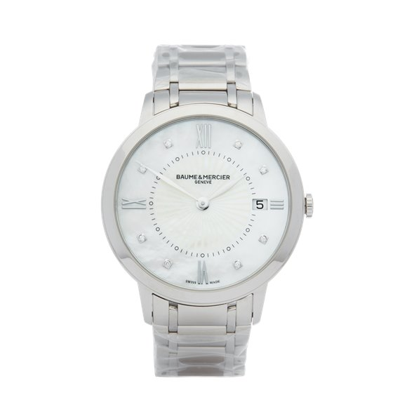 Baume & Mercier Classima Diamond Stainless Steel - MOA10225
