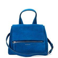 Givenchy Blue Azure Suede Pandora Pure