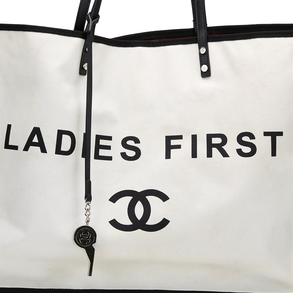 9e0b2fb27569 Chanel Ladies First Shopper Tote 2015 HB437 | Second Hand Handbags