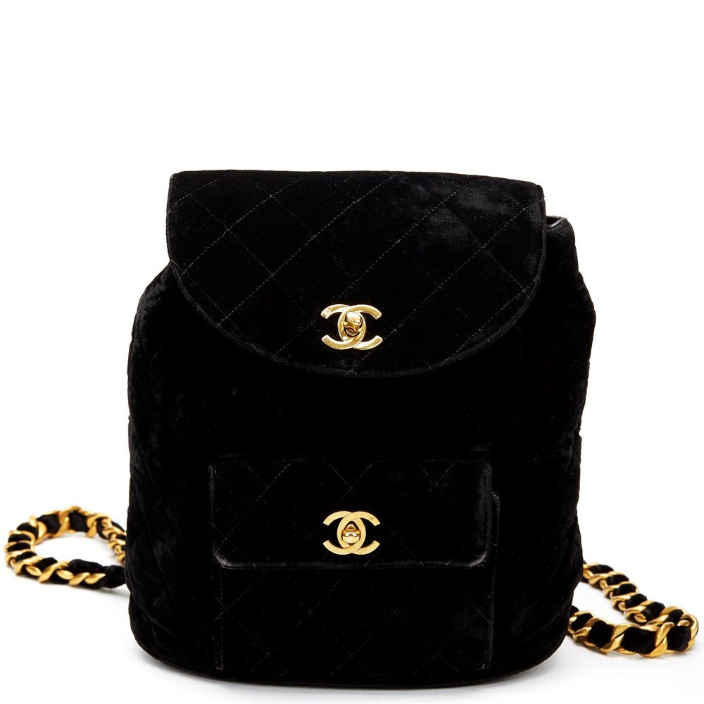 3729e13491ad Chanel Mini Backpack 1994 HB504 | Second Hand Handbags | Xupes