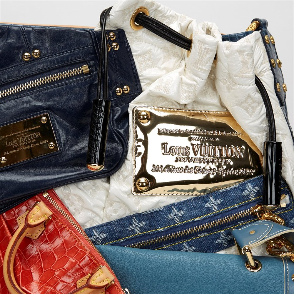 061002dcece7 Louis Vuitton Limited Edition 2007 Patchwork Tribute Collectors Bag with  Case