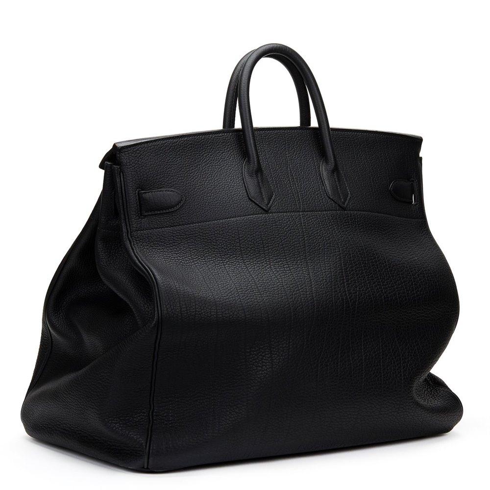 0cb4456d2bc Hermès Black Fjord Leather Birkin 40cm HAC