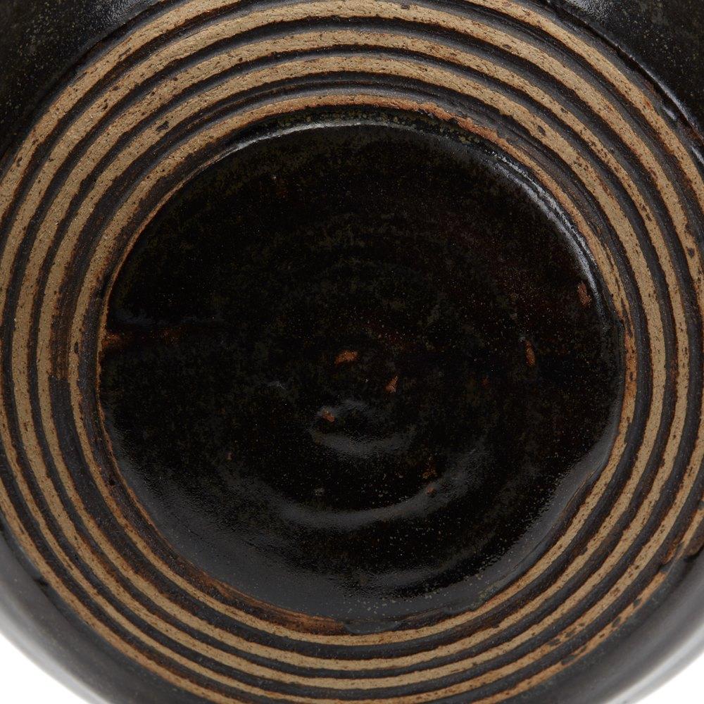 CIRCLE DESIGN STUDIO POTTERY MOON VASE 20TH C. 20th Century