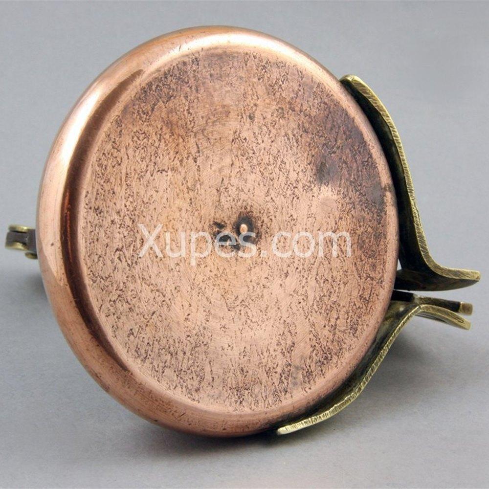 Copper And Brass Bird Cigar Cutter Circa 1890