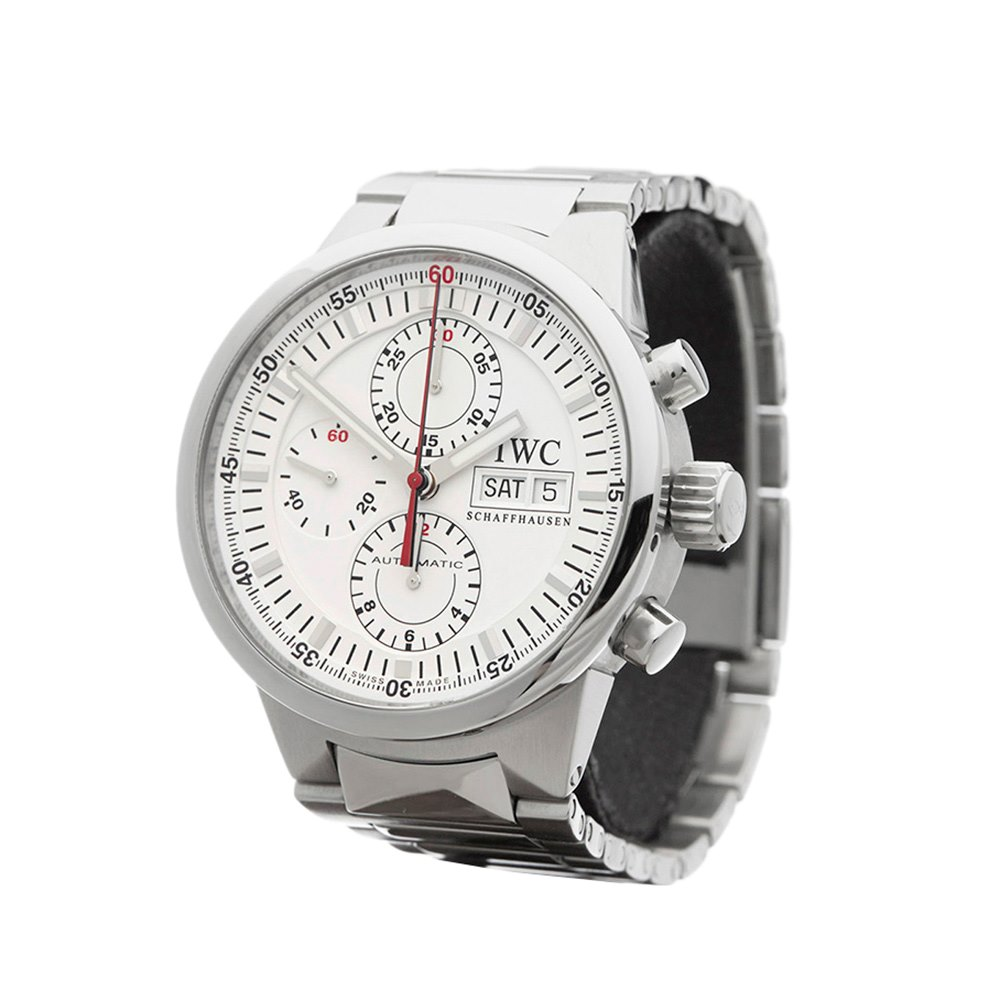 IWC GST Rattrapante Chronograph Stainless Steel IW371523