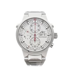 IWC GST Rattrapante Chronograph 43mm Stainless Steel - IW371523