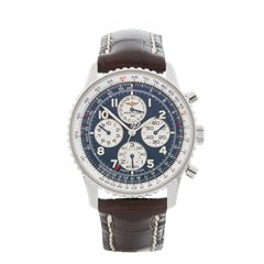 Breitling Navitimer Chronograph 38mm Stainless Steel - A33030