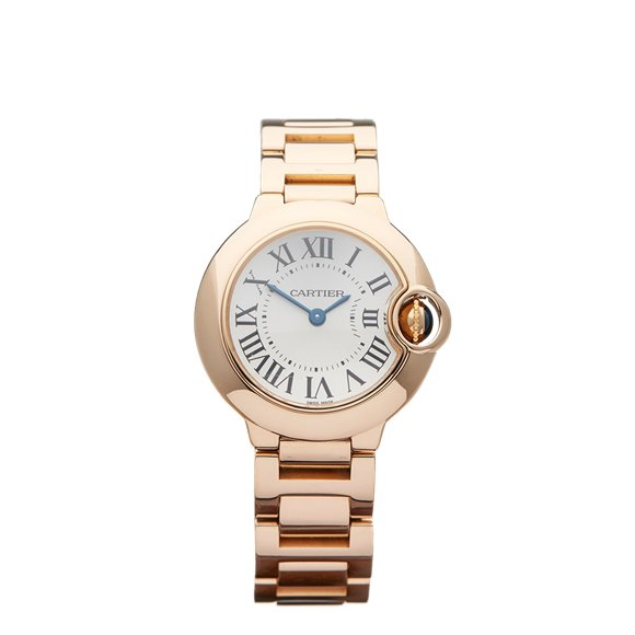 Cartier Ballon Bleu 28mm 18K Rose Gold - 3007 or W69002Z2
