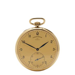 IWC Vintage Turler Pocket Watch 9K Yellow Gold