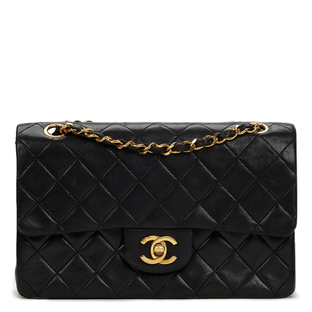 a39665f92dd0 Chanel Small Classic Double Flap Bag 1988 HB554 | Second Hand Handbags