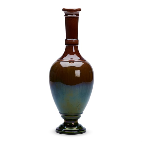 Aesthetic Movement Watcombe Vase Chris. Dresser C.1880