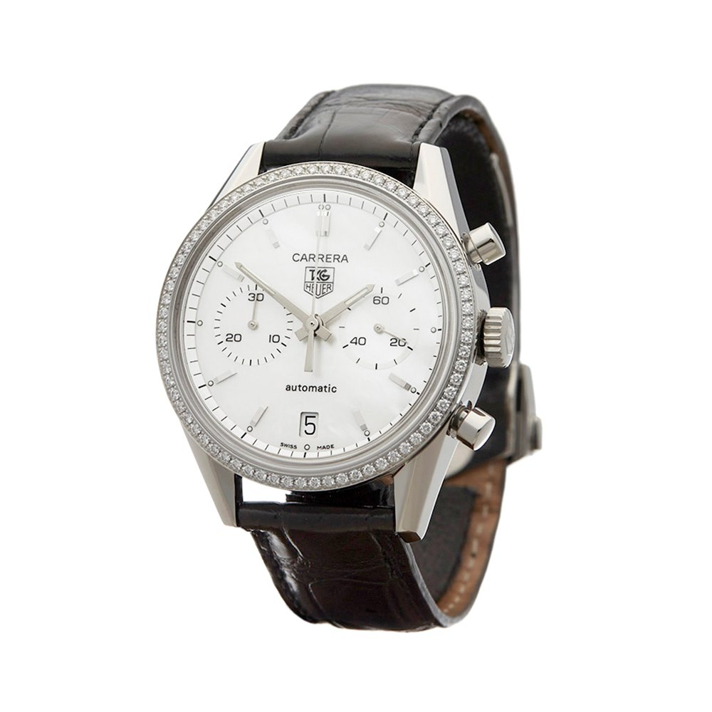 Tag Heuer Carrera Chronograph Stainless Steel CV2116