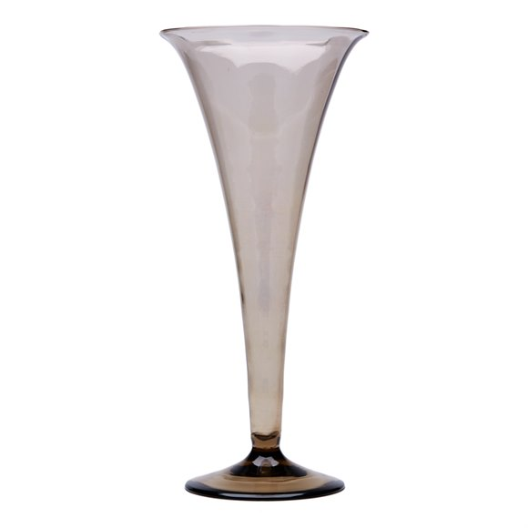 MURANO MVM CAPPELLIN SOFFIATI GLASS TRUMPET VASE c.1925