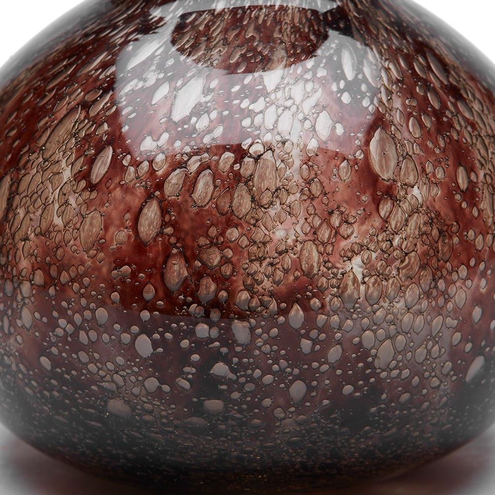 Ercole Barovier Glass Vase C.1968 Circa 1968