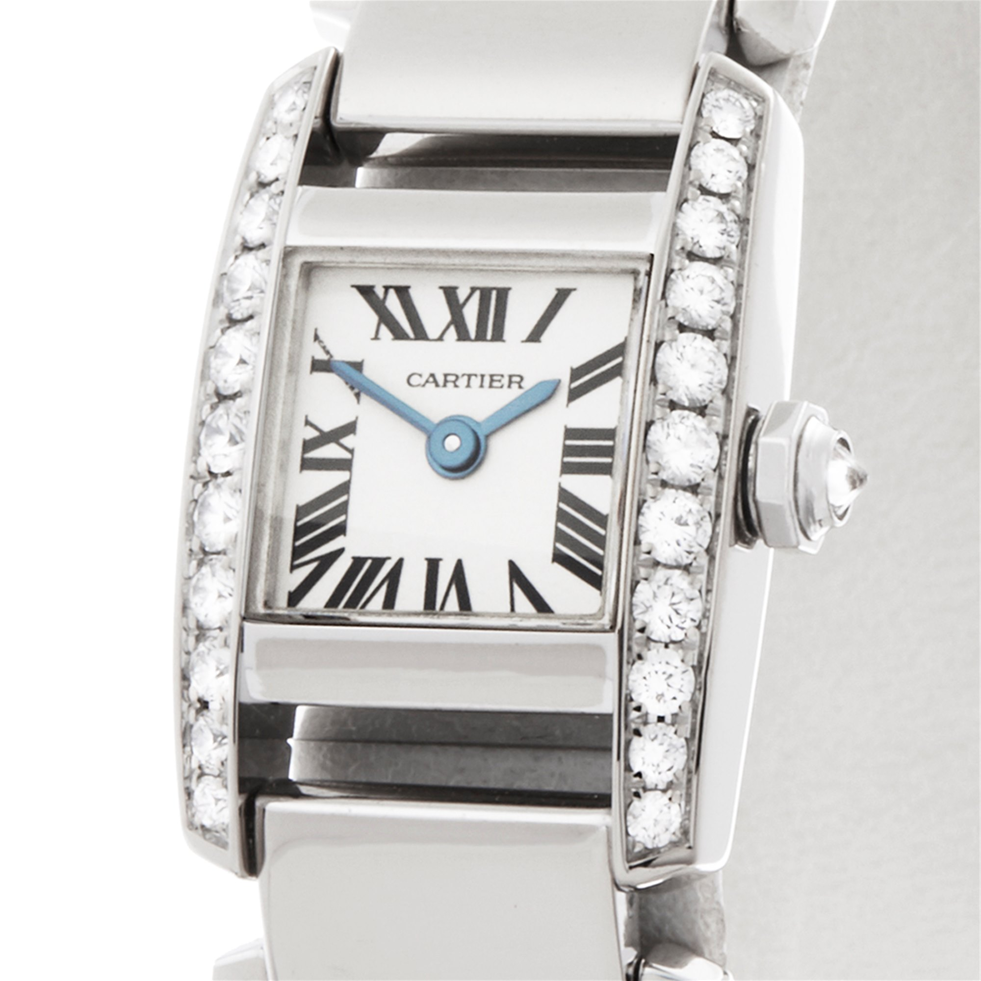 Cartier Tankissime Diamond 18K White Gold WE70069H or 2831