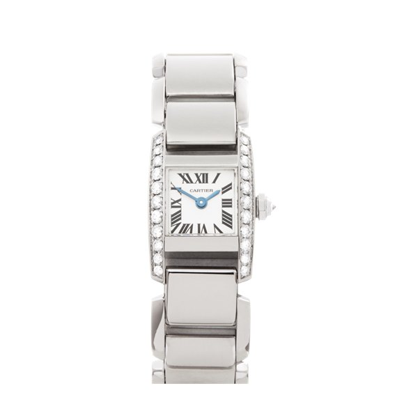 Cartier Tankissime Diamond White Gold - WE70069H or 2831