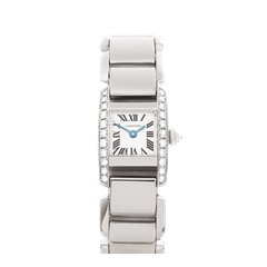 Cartier Tankissime 16mm 18K White Gold - 2831