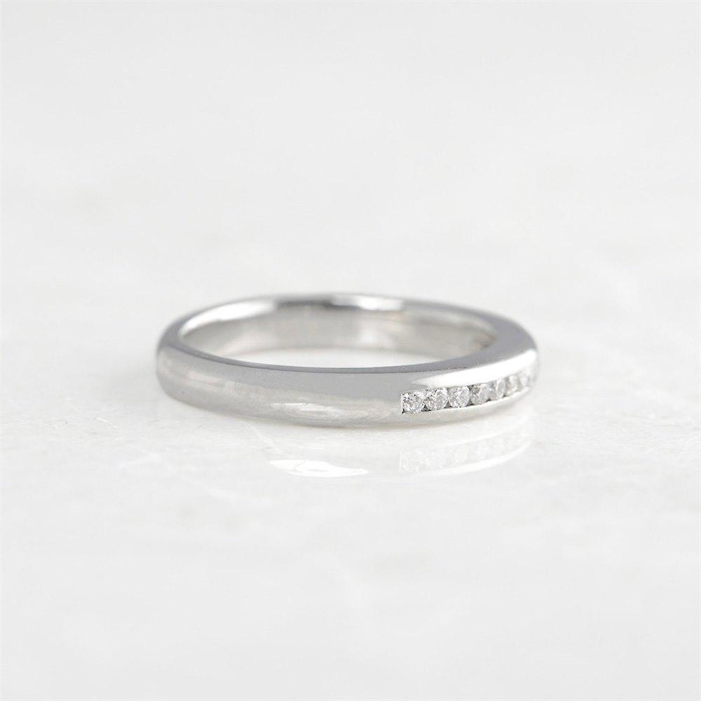 Boodles Platinum Half Eternity 0.30ct Diamond Ring