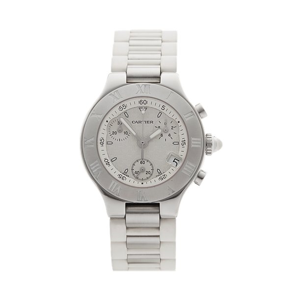 Cartier Must de 21 Chronoscaph Stainless Steel - 2996 or W10197U2