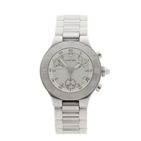 Cartier Must de 21 Chronoscaph 31mm Stainless Steel - 2996 or W10197U2