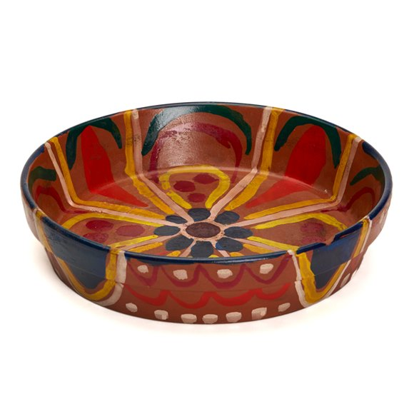 Omega Workshops Hand Painted Studio Pottery Bowl C.1913