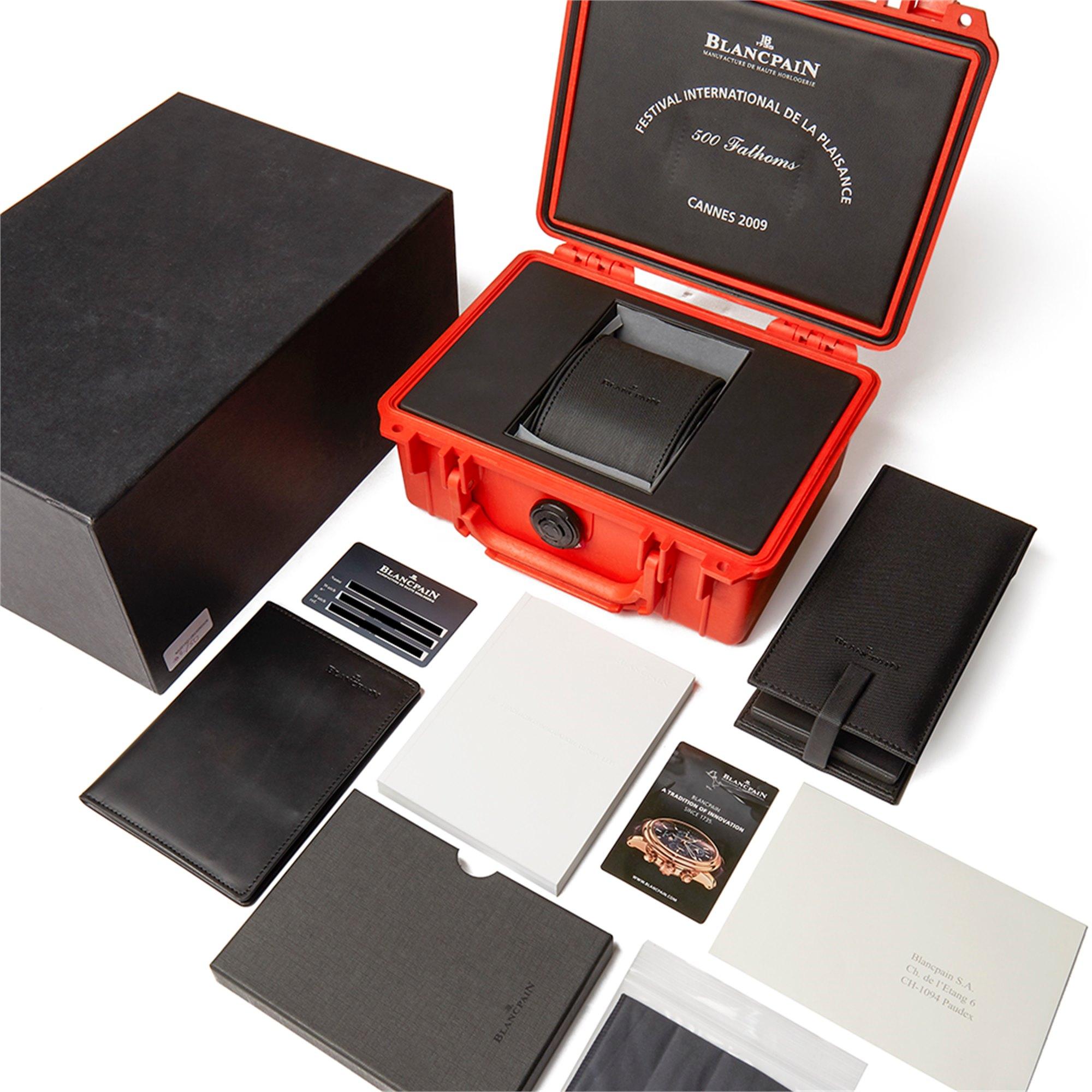 Blancpain Fifty Fathoms 500 Fathoms Limited Edition 02/50 Titanium 50015-12b34-52b