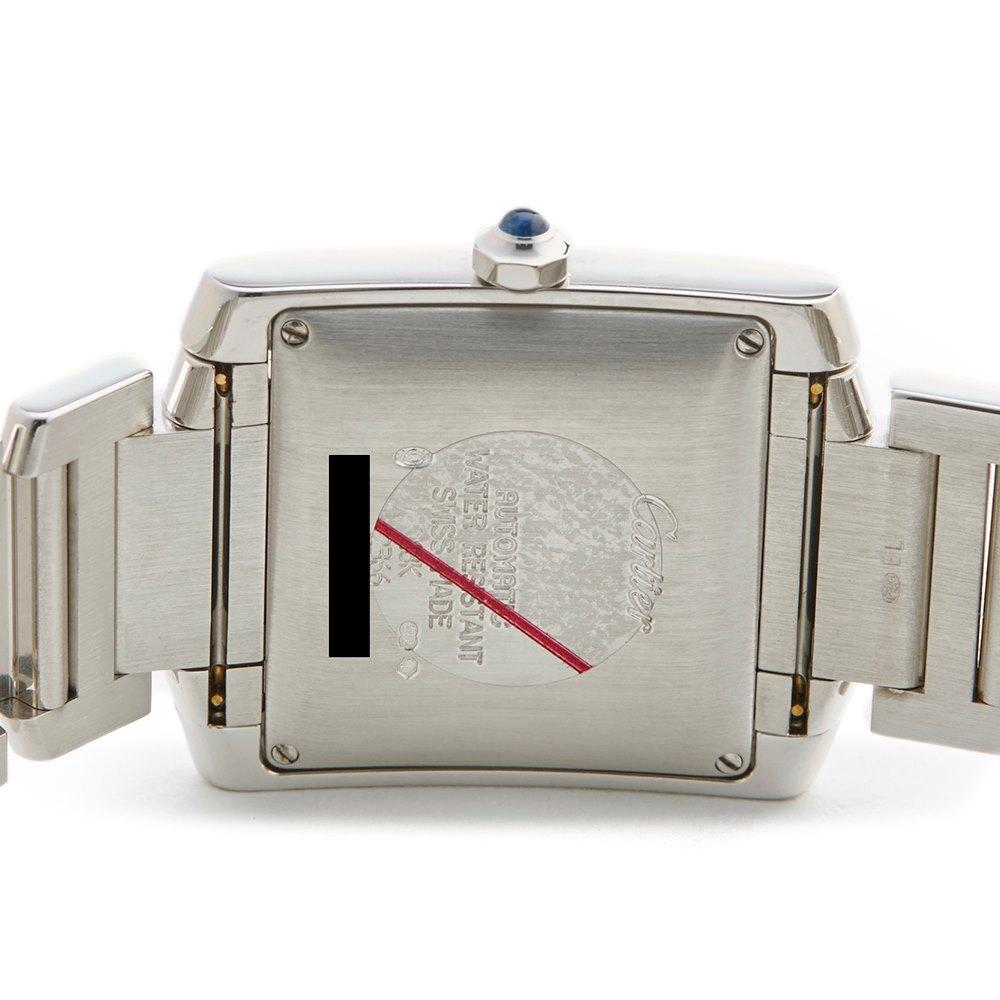 Cartier Tank Francaise 18k White Gold 2366