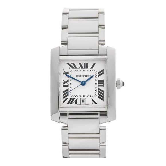 Cartier Tank Francaise 18K White Gold - W50011S3 or 2366