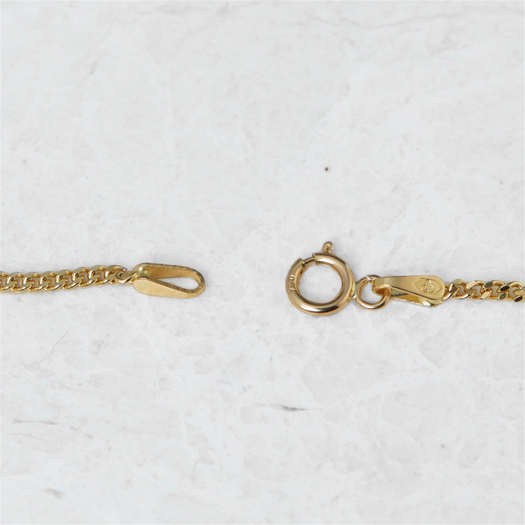 Audemars Piguet 18k Yellow Gold Mabe Pearl & Diamond Pendant Necklace