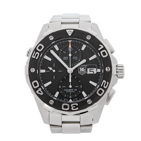 Tag Heuer Aquaracer Chronograph 44mm Stainless Steel - CAJ2110.BA0872