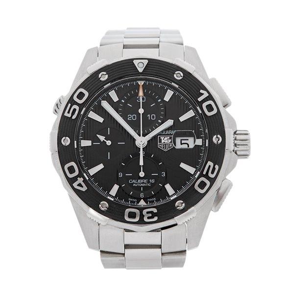 Tag Heuer Aquaracer Chronograph Stainless Steel - CAJ2110.BA0872