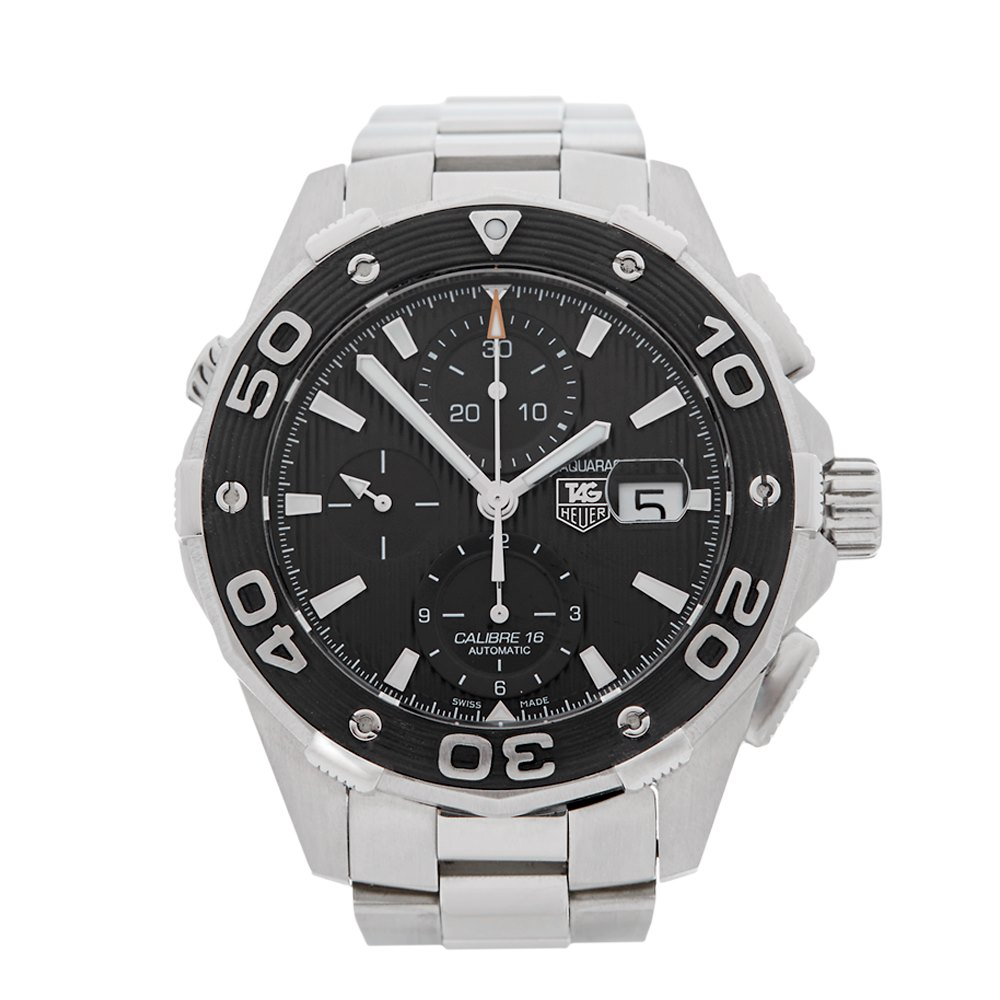 Tag Heuer Aquaracer Chronograph Stainless Steel CAJ2110.BA0872