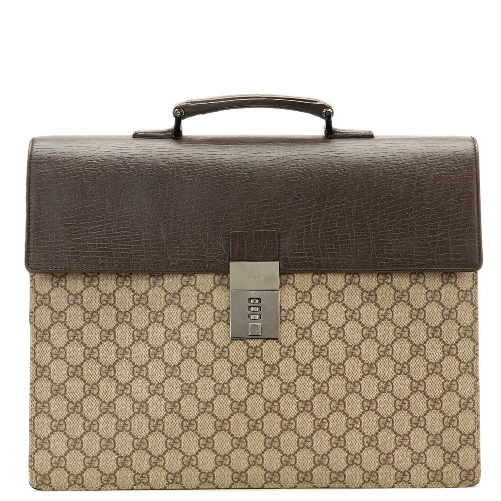 9a993f9c8ff9 Gucci Briefcase 2000's CB113 | Second Hand Handbags | Xupes