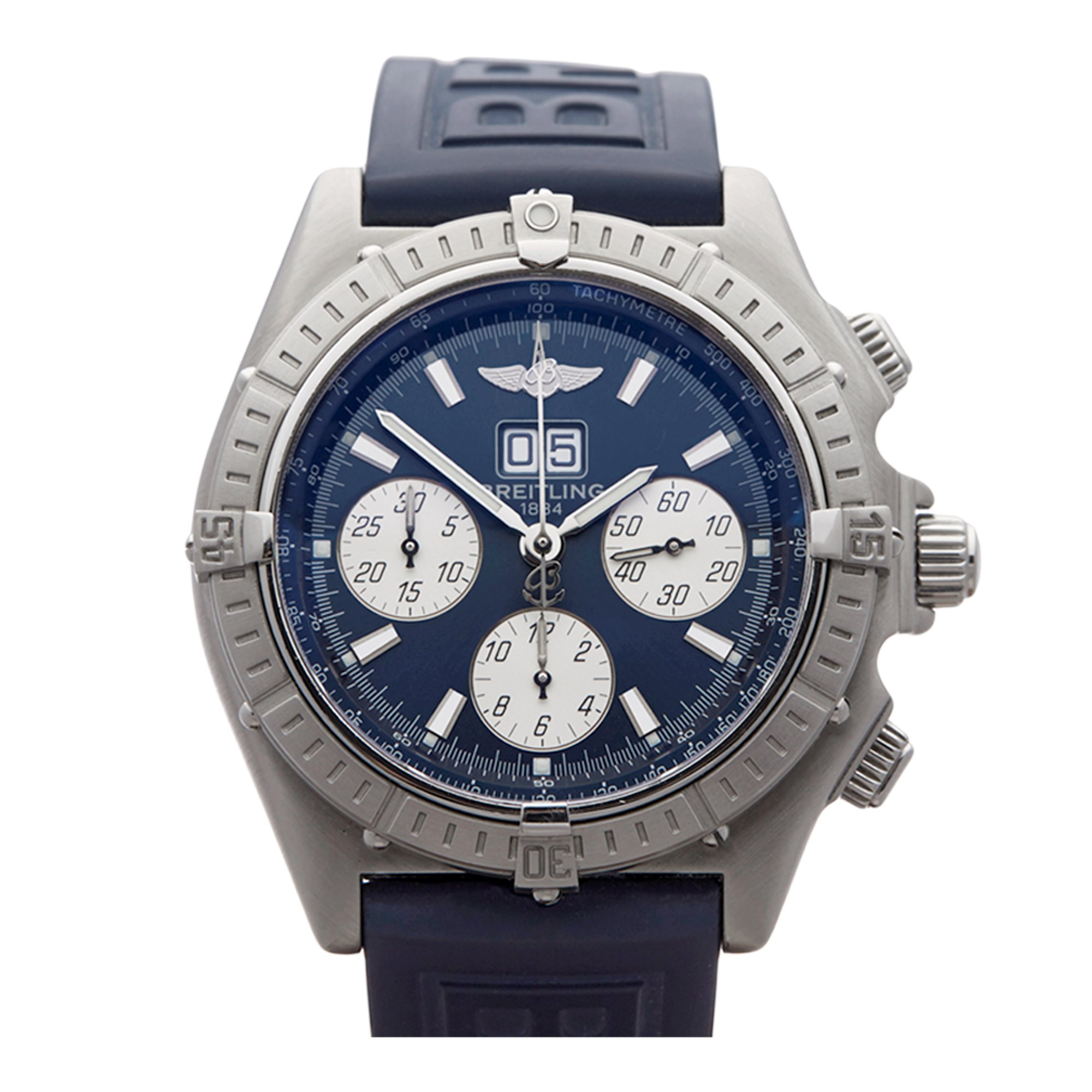 Breitling Crosswind Big Date Chronograph Stainless Steel A4435512/C516
