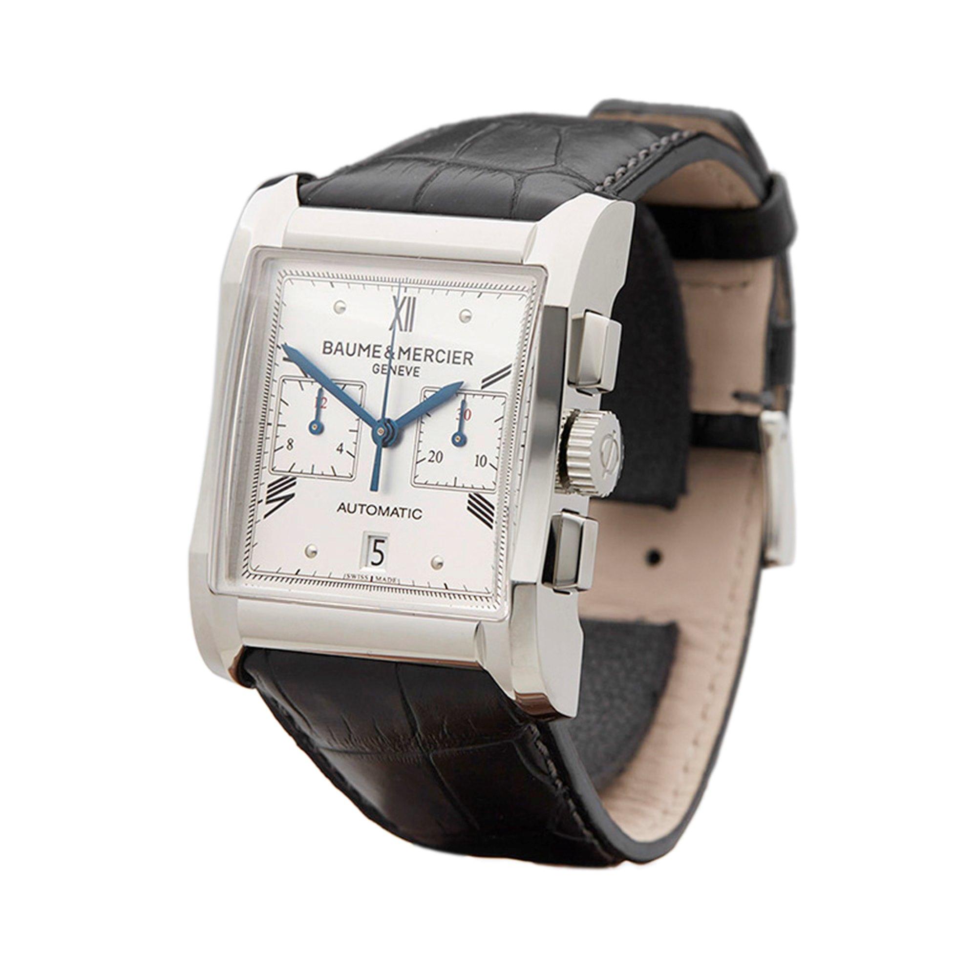 Baume & Mercier Hampton Chronograph Stainless Steel MOA10032