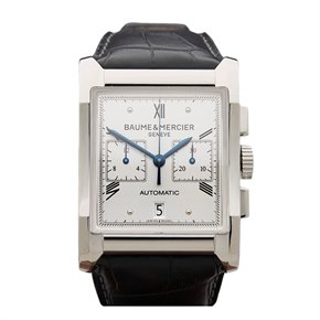 Baume & Mercier Hampton Chronograph Stainless Steel - MOA10032