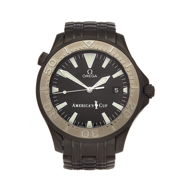 Omega Seamaster Hercules Custom America's Cup 41mm Dlc Coated Stainless Steel - 2533.50.00