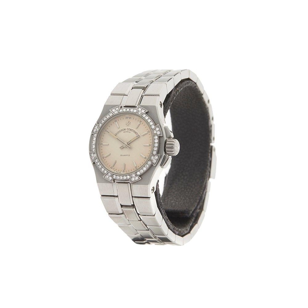 Vacheron Constantin Overseas Diamond Stainless Steel 16550/423A-8492