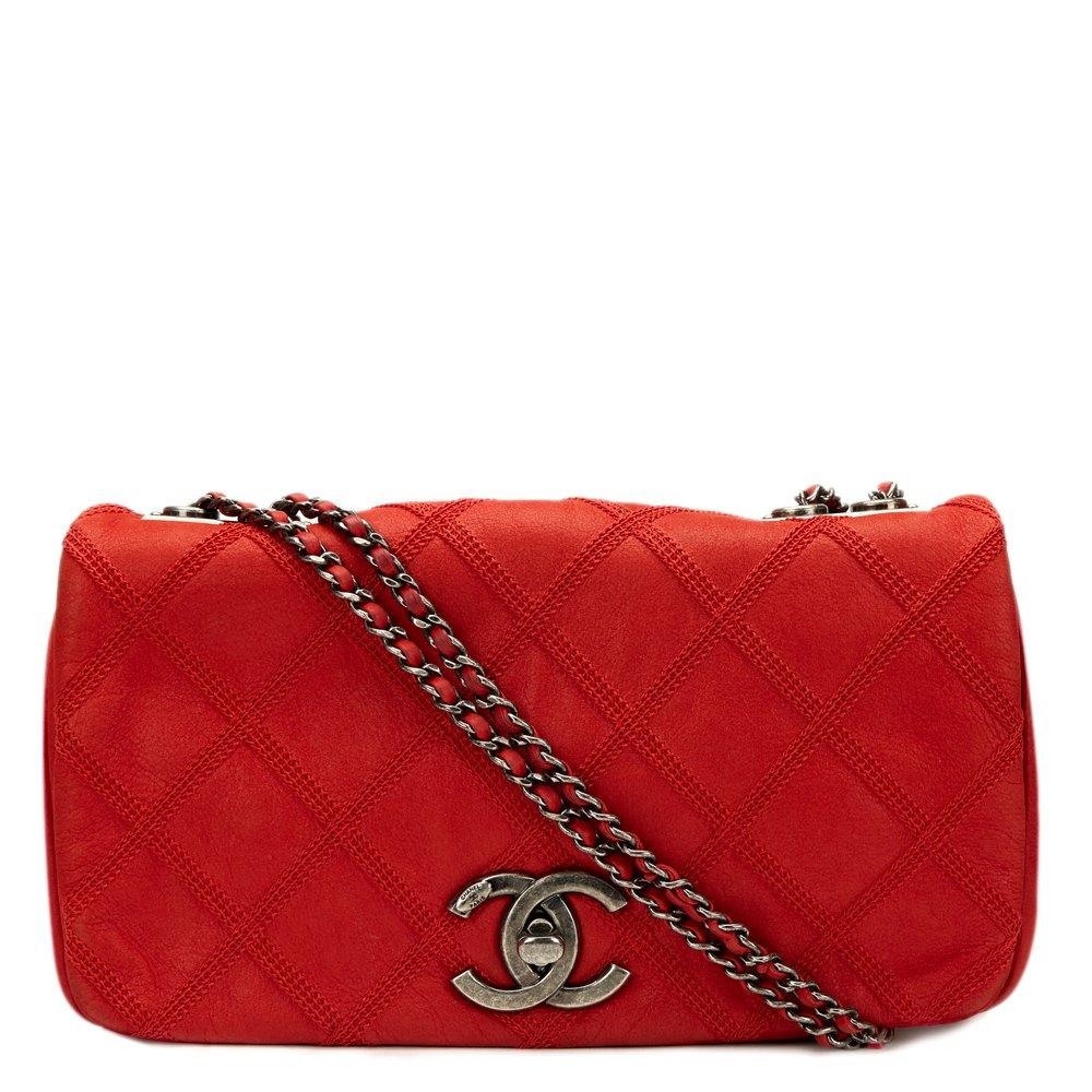 15b5ac59e2c8 Chanel Single Flap Bag 2012 HB759   Second Hand Handbags   Xupes