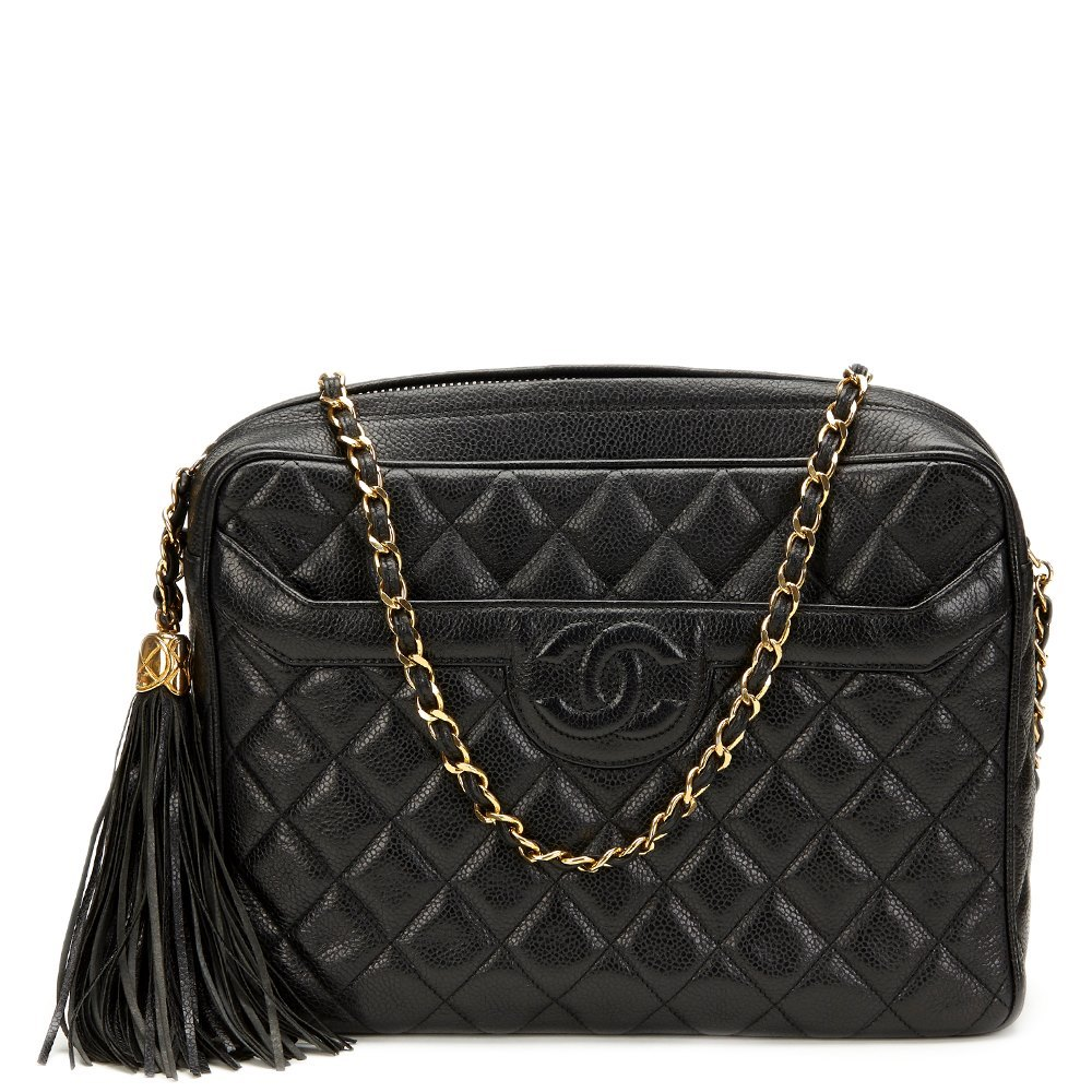 6171f2f674bd Chanel Camera Bag 1991 HB763 | Second Hand Handbags | Xupes