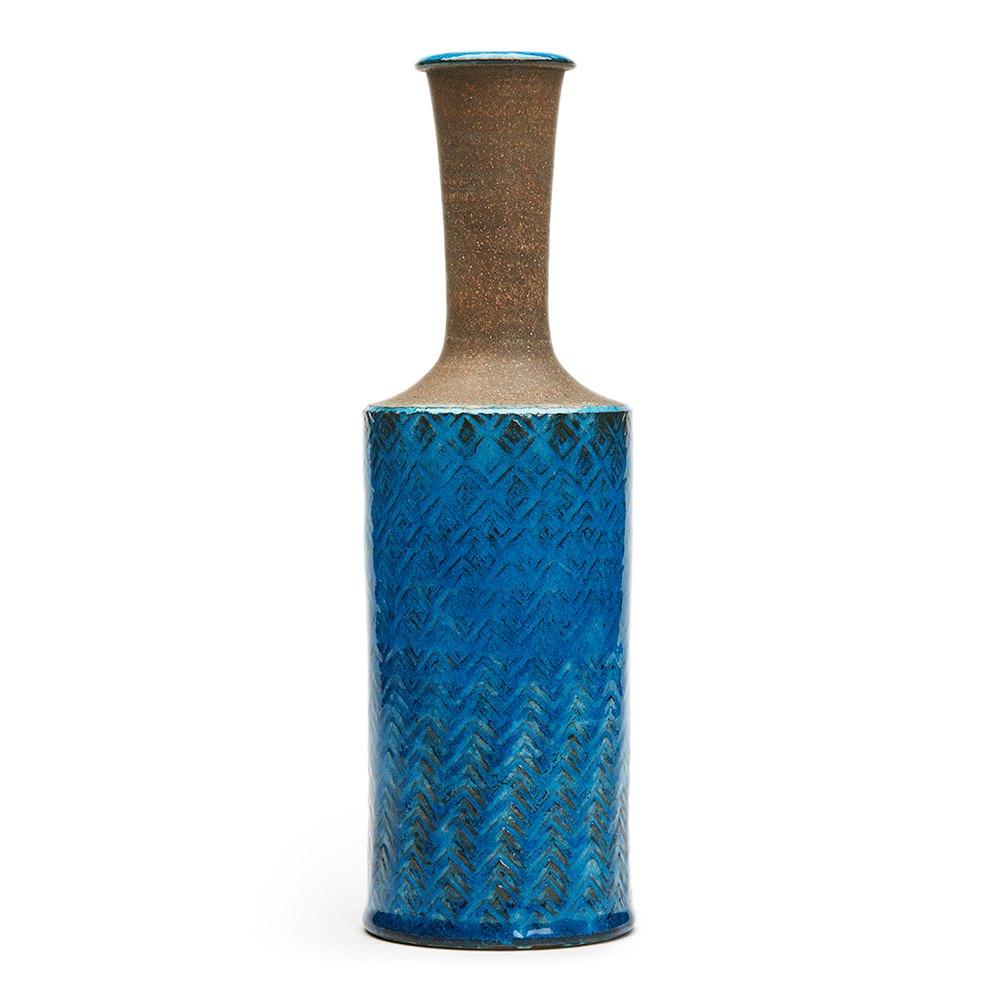 Nils Kahler Pottery Vase C.1960 Circa 1960