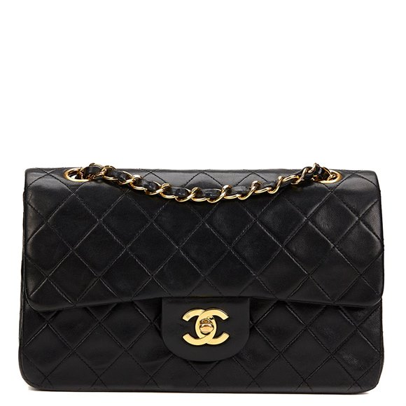 chanel small classic double flap bag 1993 hb1230 second