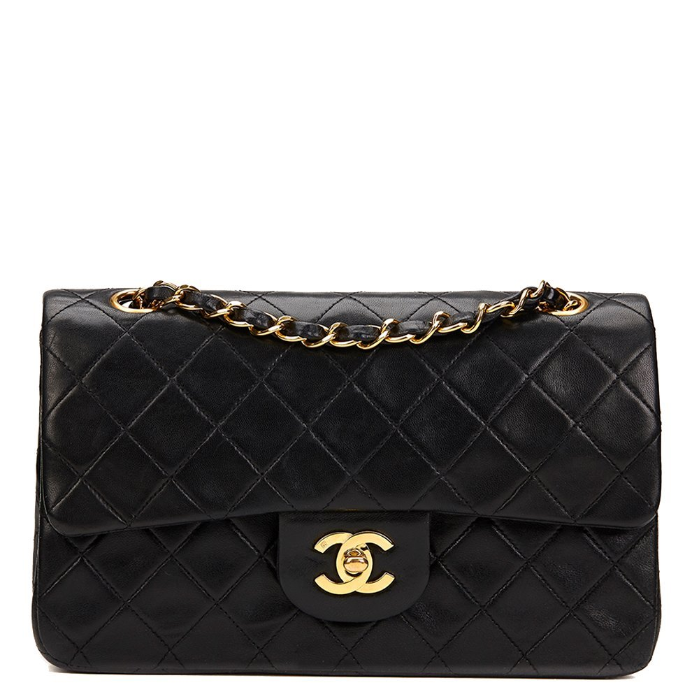 fd5ad99e2253 Chanel Small Classic Double Flap Bag 1992 HB821 | Second Hand Handbags