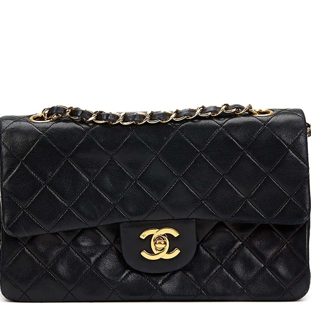2054b9fbeefa Chanel Small Classic Double Flap Bag 1991 HB826 | Second Hand Handbags