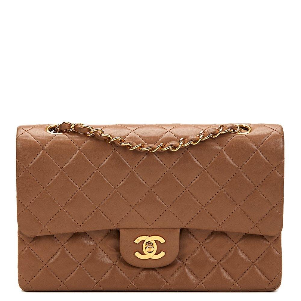 b07b5a26f2876d Chanel Medium Classic Double Flap Bag 1992 HB829 | Second Hand Handbags
