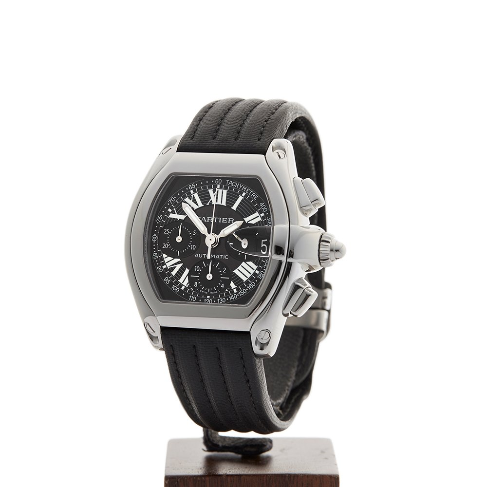 Cartier Roadster Chronograph Stainless Steel 2618 or W62019X6 85ad242619