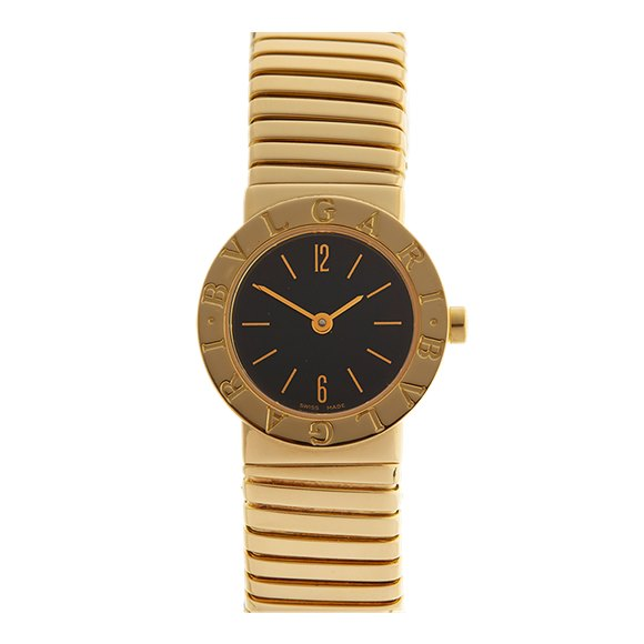Bulgari Tubogas 18K Yellow Gold - BB2321