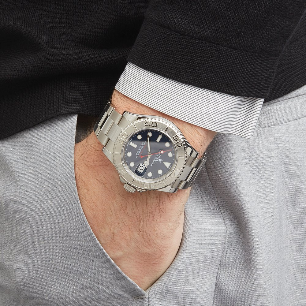 Yacht Master Rolesium Stainless Steel 116622