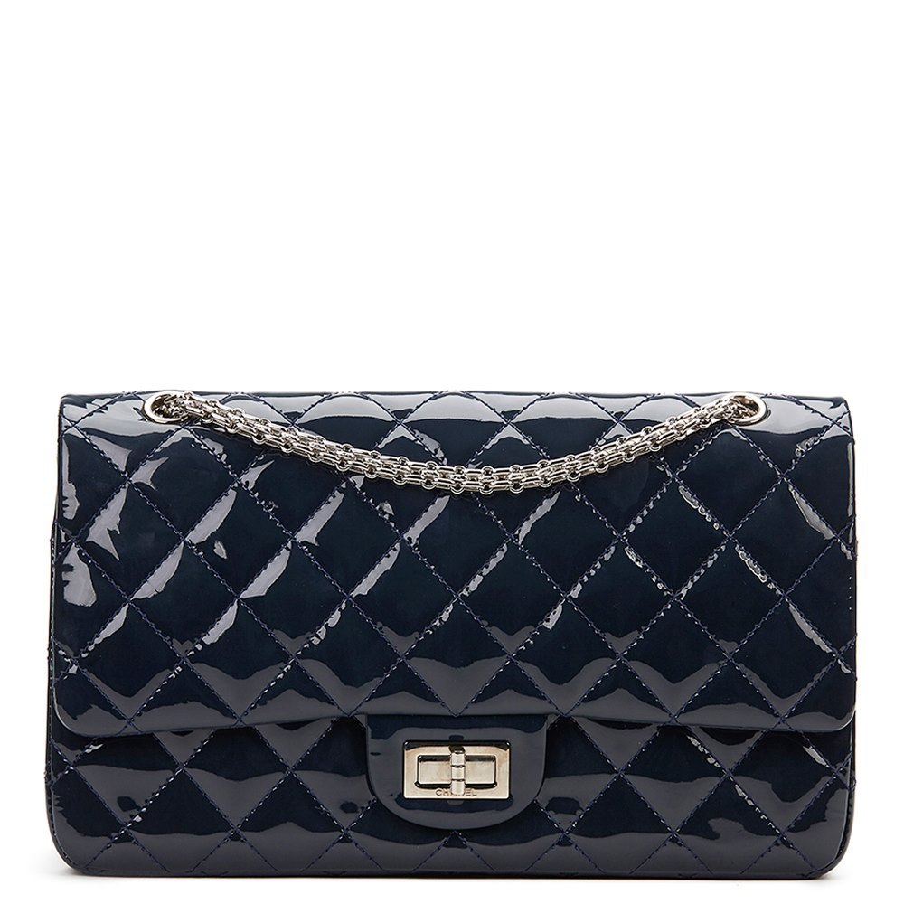 377aaa247375 Chanel 2.55 Reissue 227 Double Flap Bag 2010 HB864 | Second Hand ...